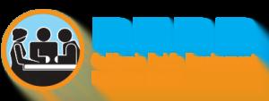 PERB Logo in Blue and Orange